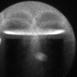 Image 1 of the DPF fusion reaction taken with the 4 Picos ICCD camera.